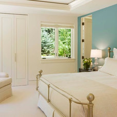 Transitional Bedroom by Forum Phi - Architecture | Interiors | Planning