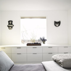 contemporary bedroom by Garret Cord Werner