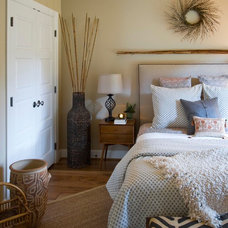 Transitional Bedroom Guest Bedroom