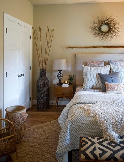 Transitional Bedroom by Grey Street Interior Design