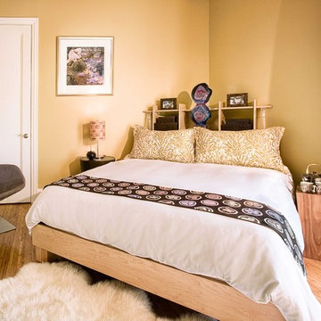 Guest Bedroom in Sonoma Residence
