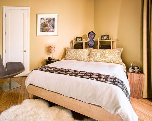 Bed on diagonal home design ideas pictures remodel and decor for Catty corner bedroom ideas