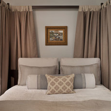 Transitional Bedroom by Jeneration Interiors