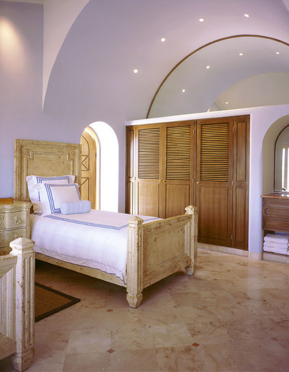 mediterranean bedroom by Jerry Jacobs Design, Inc.