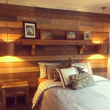 Guest Bedroom - Lodge Cabin Style