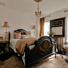 Traditional Bedroom by Lori Rourk Interiors Inc.
