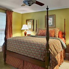 Traditional Bedroom by Valerie Garrett Interior Design