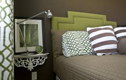Litet sovrum? Spara utrymme med vägghängda nattduksbord