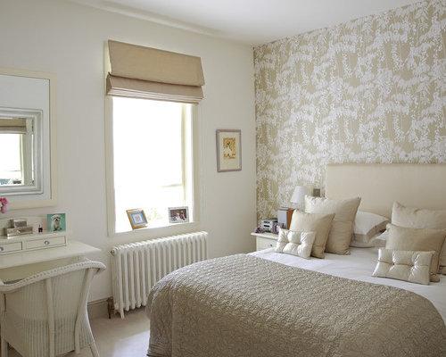 Best neutral wallpaper design ideas remodel pictures houzz for Neutral bedroom wallpaper
