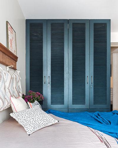 Eclectic Bedroom by P S Design