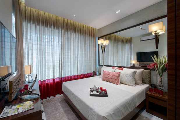 Contemporary Bedroom by P S Design