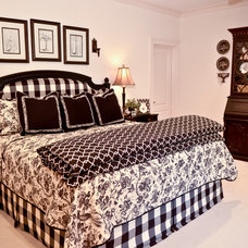 Traditional Bedroom by Pam Adams