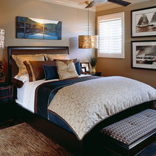 Bedroom by Robeson Design