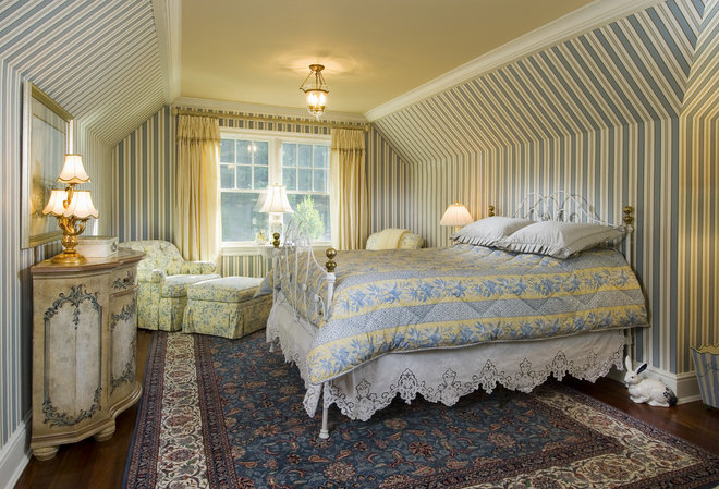 Traditional Bedroom by Sara Hopkins