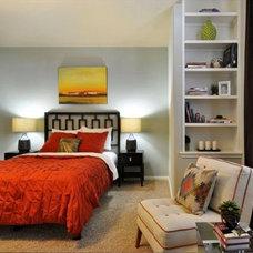 Contemporary Bedroom by Spaces Designed, Interior Design Studio, LLC
