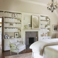 traditional bedroom by Tracery Interiors