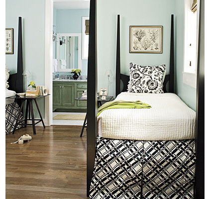 Beach Style Bedroom by Tracery Interiors