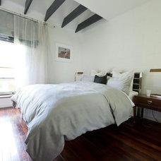 Contemporary Bedroom by Walk Interior Design Limited