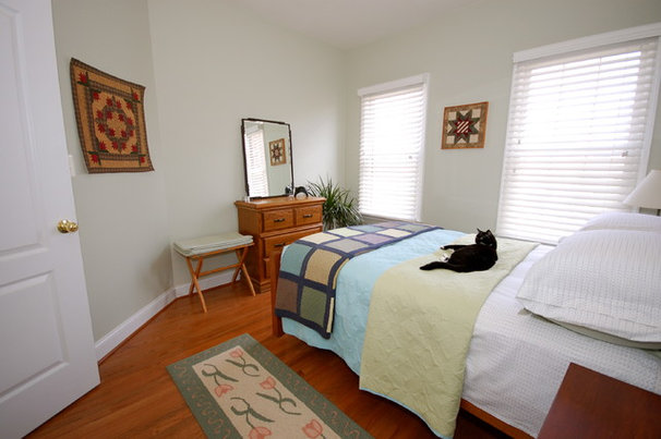 Eclectic Bedroom by Weaver Home Photography