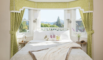 Guest Bedroom with Bay Window