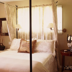 traditional bedroom by Moore About... Design