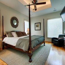 Eclectic Bedroom by RD Architecture, LLC