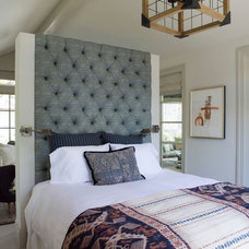 Transitional Bedroom by Elizabeth Martin Design
