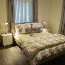 Contemporary Bedroom by ikea guru