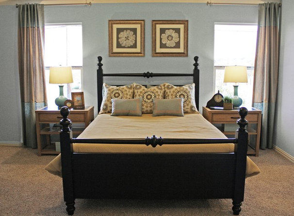 Traditional Bedroom by Cristi Holcombe Interiors, LLC