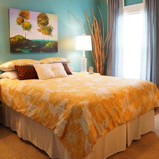 Bedroom - eclectic bedroom idea in Charleston