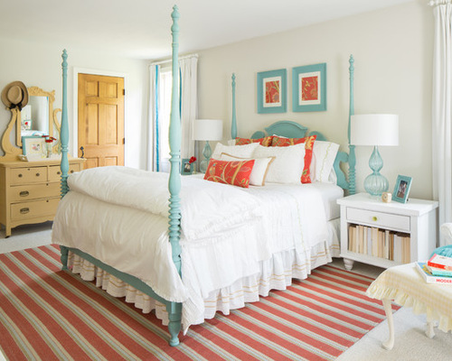 1,545 Coral And Teal. Home Design Design Ideas & Remodel Pictures ...
