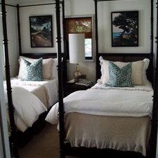 Beach Style Bedroom by David Nosella Interior Design