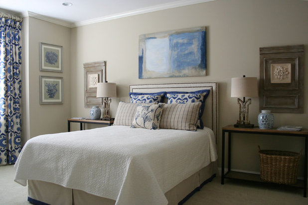 Transitional Bedroom by Legacy Residential Interiors