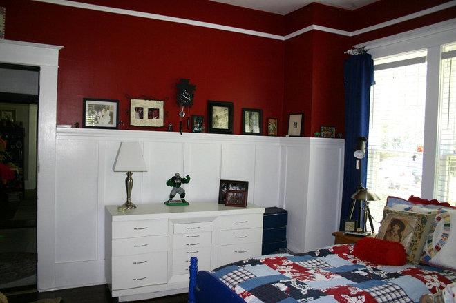 Eclectic Bedroom guest room