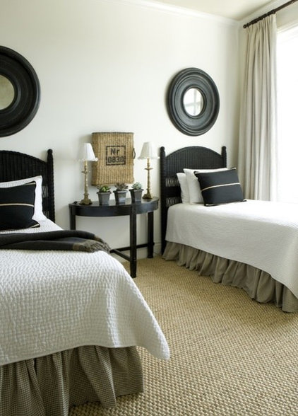 Beach Style Bedroom by Liz Williams Interiors