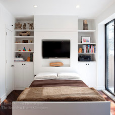 Eclectic Bedroom by The Brooklyn Home Company