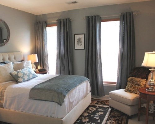 Blue And Gray Bedroom Houzz