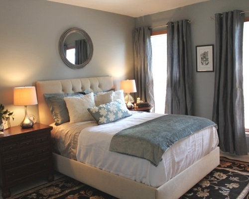 grey blue bedroom houzz