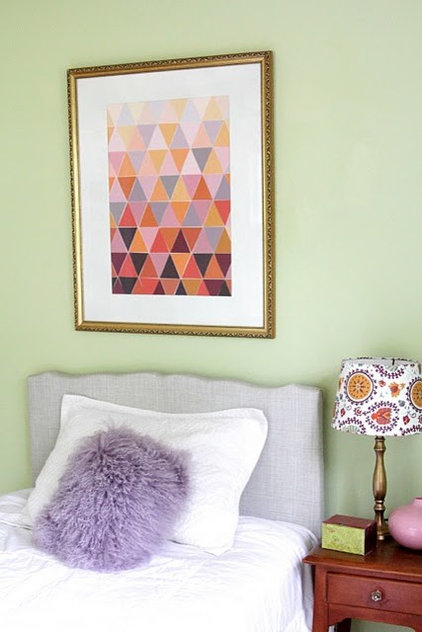 eclectic bedroom by Heather Freeman