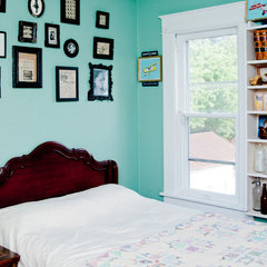 eclectic bedroom by Amy Clark Studios