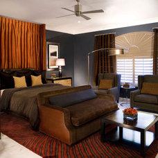 Modern Bedroom by Inhabit Design