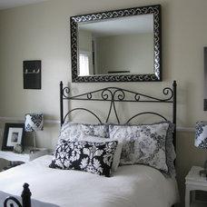 Eclectic Bedroom Guestroom