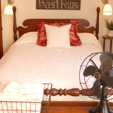 Eclectic Bedroom by Mustard Seed Interiors