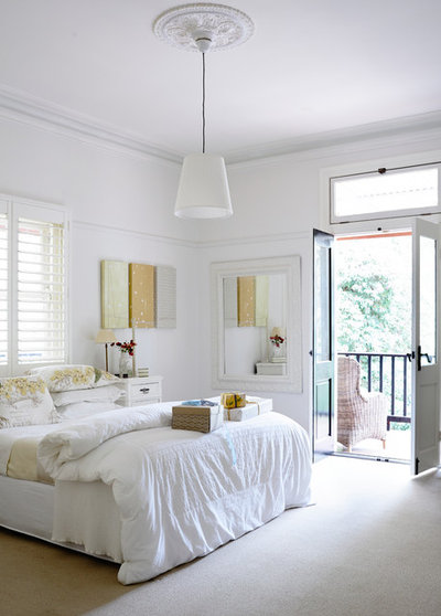 Transitional Bedroom by Beautiful South