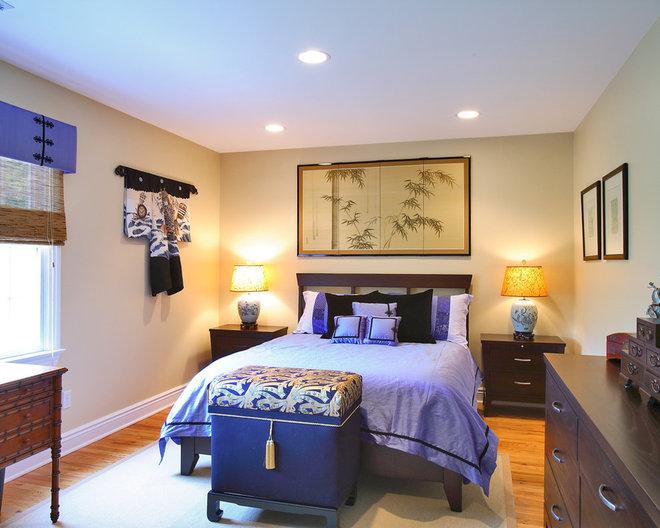 Asian Bedroom by Olga Adler