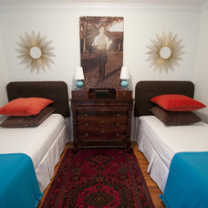 Eclectic Bedroom by Taylor Shead