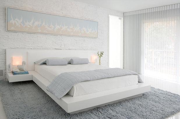 Contemporary Bedroom by Habachy Designs