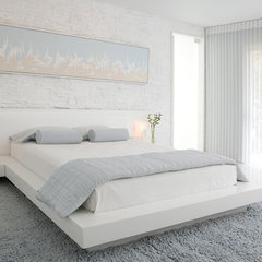 contemporary bedroom by Habachy Designs