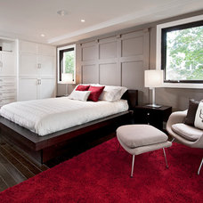 Contemporary Bedroom by Chuck Mills Residential Design & Development Inc.
