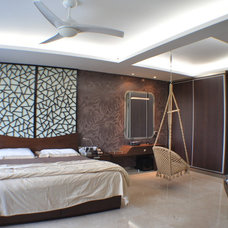 Contemporary Bedroom by INFINITY DESIGN